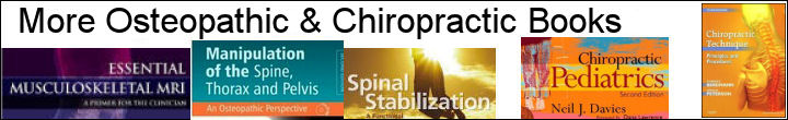 More Osteopathic and Chiropractic Books