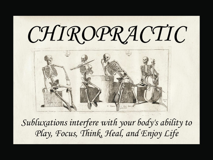 Chiropractic Subluxations